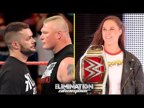 10 Shocking Spoilers WWE Elimination Chamber 2018