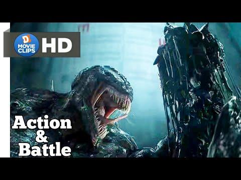 Venom Hindi Venom Vs Riot Action & Battle Scene MovieClips