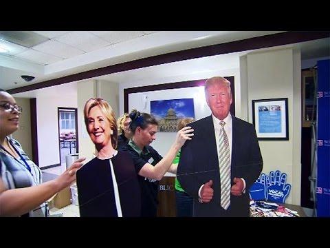 ΗΠΑ: Στο πλευρό της Χίλαρι Κλίντον οι φοιτητές στην Ουάσινγκτον