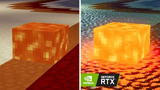 Playing Minecraft with RTX On (Official BETA Preview)