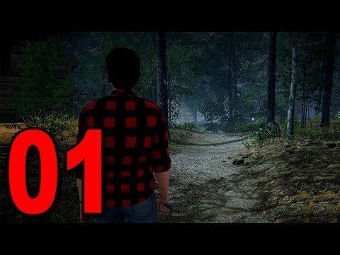 Friday the 13th The Game - Part 1 - THIS IS TERRIFYING (видео)