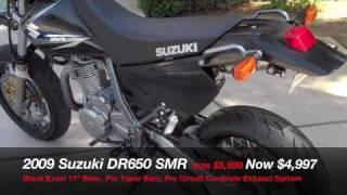 10. 2009 Suzuki DR650 SMR @ Motoworld of El Cajon