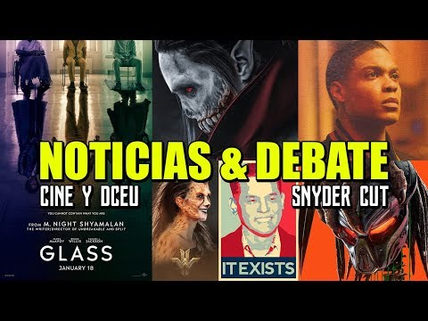 DEBATE CINE & DCEU - ZACK SNYDER CUT EXISTS - WONDER WOMAN 84 - CHEETAH - STAR WARS - AQUAMAN