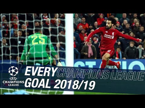 Video: Every Champions League goal 2018/19 | 24 strikes from PSG to Tottenham in Madrid