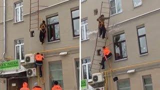 Odśnieżanie dachu w Rosji zakończone wizytą w szpitalu…
