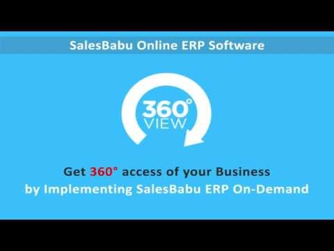 SalesBabu ERP Software
