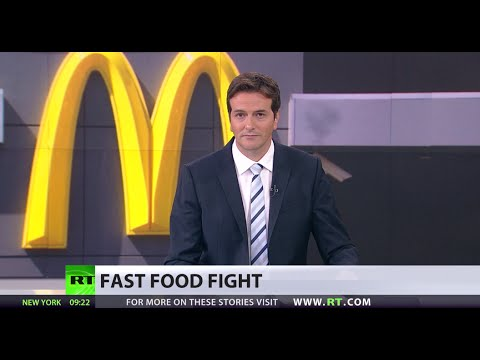 Not Loving It: Russia moots McDonald's burger ban