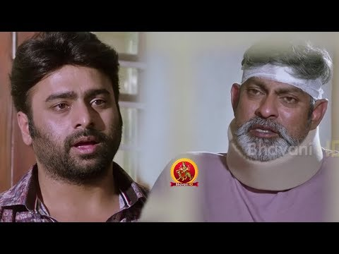 Kalikkar Malayalam Movie Scenes | Nara Rohith Saves Jagapathi Babu & Gets Emotional