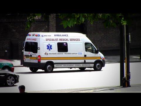 G4S Healthcare Logistics - Renault Master SMS Responding at Hyde Park Corner