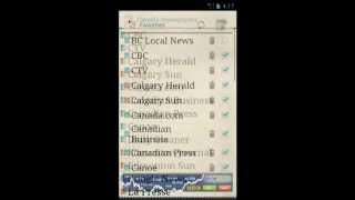 Canada Newspapers YouTube video