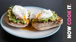 Avocado Toast With Poached Eggs Recipe by SORTEDfood
