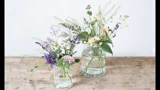 """You can easily arrange beautiful flower bouquets in vases, just remember to use masking tape. Have a look at the video and learn Anna's flower trick on how to make gorgeous, but light flower arrangements. Find more creative ideas here: http://sostrenegrene.com/diy-corner/Find the products from the video in your local Søstrene Grene shop.Remember to press the """"thumbs up"""" button and tell all your friends about this simple, but creative way of making gifts for your friends. You can also subscribe to our channel for notifications on Anna's DIY videos on fun craft projects. On our YouTube channel, you can find creative inspiration and tutorials on DIY projects, styling, painting and even cooking. All our videos aspire to encourage playfulness and creativity for all ages, kids and adults alike.Best regards,SØSTRENE GRENEFind further inspiration on our other social media channels:https://instagram.com/sostrenegrenehttps://facebook.com/sostrenegrenehttps://youtube.com/sostrenegrenehttp://pinterest.com/sostrenegrenesVideo timeline:Materials: 0:01Final product: 0:29"""