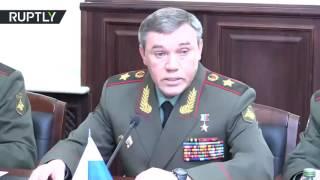 Глава Генштаба РФ призвал страны СНГ расширять сотрудничество для борьбы с терроризмом