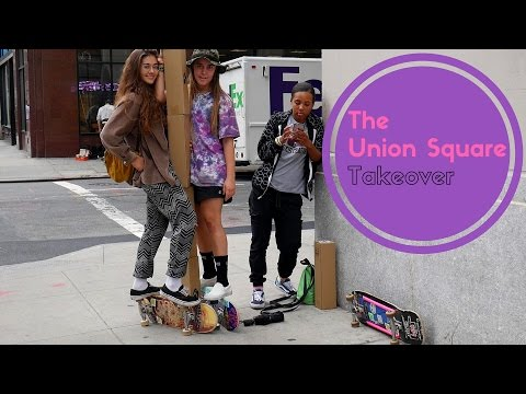 The Skate Kitchen Takeover Union Square | 1st Vlog