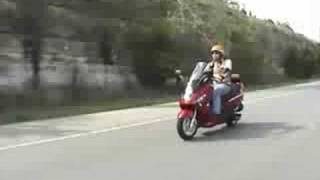 5. 2009 SYM RV 250 Scooter Review