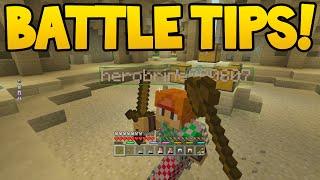 Minecraft (Xbox360/PS3) - TU36 BATTLE! - PVP TIPS / TRICKS!