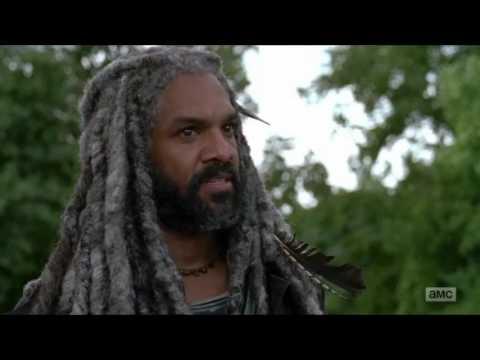 The Walking Dead - King Ezekiel & Morgan meet up with The Saviors.