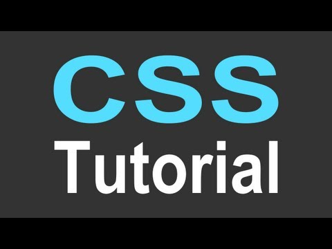 css - http://www.LittleWebHut.com How to make a website: CSS Tutorial - Basics. This is the first in a series of videos designed to teach the basics of CSS. This v...