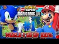 Sonic Mario In New Super Mario Bros Wii Co Op 100 Part