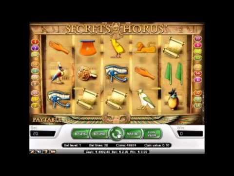 Slot Machine The Secrets Of Horus - Bookofraonline.it