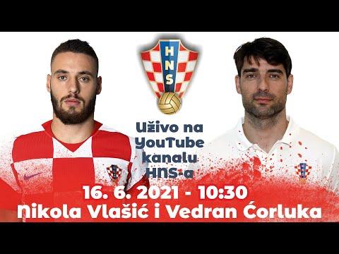 Konferencija za medije (Vlašić, Ćorluka) 16.06.2021. 10:30 Rovinj