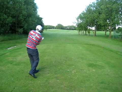 New Crazy ass golf swing with no backswing – Darren Mills