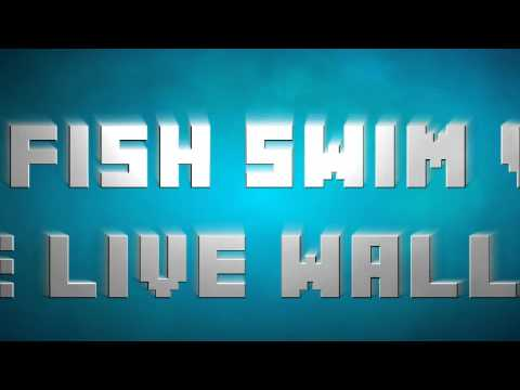 Video of Goldfish Swim In Phone LWP