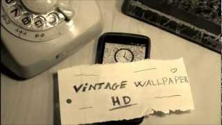 Vintage Wallpaper HD YouTube video