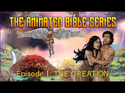 The Animated Bible Series Episode 1: The Creation | Michael Arias | Steve Cleary | Robert Fernandez