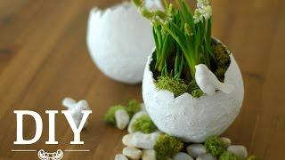 diy h bsche oster deko vasen einfach selber machen deko. Black Bedroom Furniture Sets. Home Design Ideas