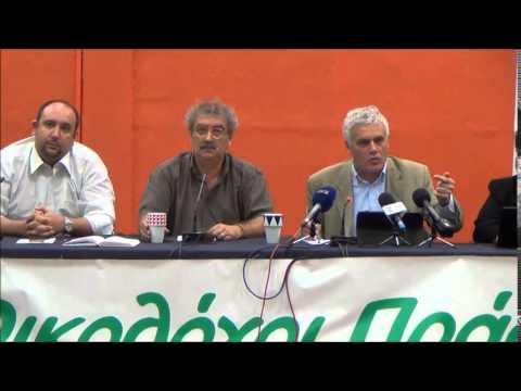 Γιάννης Τσιρώνης στην 80η ΔΕΘ απαντά για διακυβέρνηση του ΣΥΡΙΖΑ