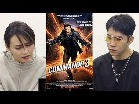 REACTION | Commando 3 Trailer reaction by Thai and Indonesian