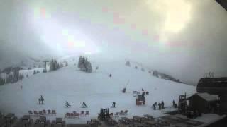 Timelapse Webcam Villard de lans - 20/01/2016 - Cote 2000 haut