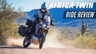 3. 2016 Honda Africa Twin Ride Review