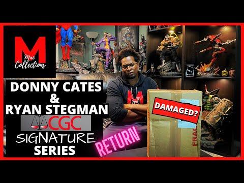 DONNY CATES & RYAN STEGMAN  CGC SIGNATURE SERIES   RETURN : DAMAGED SHIPPER!!