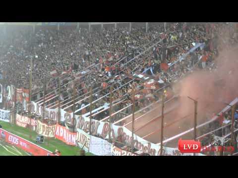 (HD) Resumen hinchada de Independiente vs Dep. Español - La Barra del Rojo - Independiente