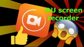 How to use DU Recorder