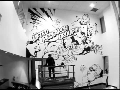 Pose x LRG   Mural at LRG Headquarters
