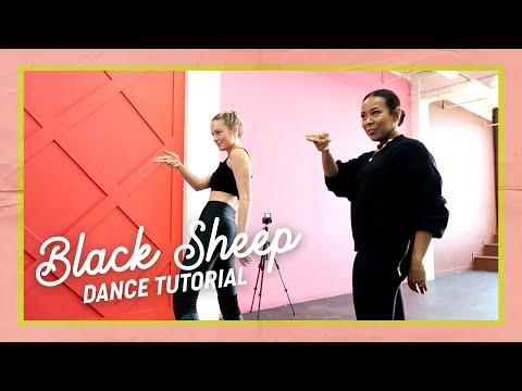 I learned a dance routine to Black Sheep (with Galen Hooks)