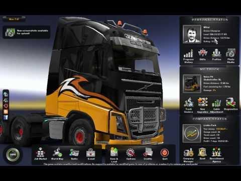 Euro Truck Simulator 2 Savegame v1.9.x