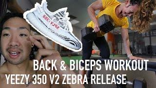 Big Back & Biceps Workout | Video VLOG