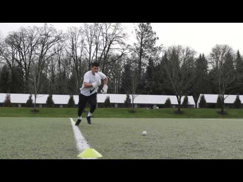 Nike Lacrosse Tip: Plant, Drive and Scoop