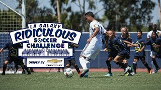 One lucky kid got to ride with LA Galaxy midfielder Giovani dos Santos and ask him a series of questions. Want to see more from the LA Galaxy? Subscribe to ...