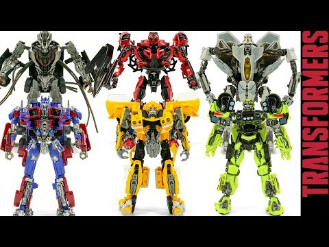 Transformers Studio Series Bumblebee Stinger Crowbar Ratchet Optimus Prime Starscream Robot Toys