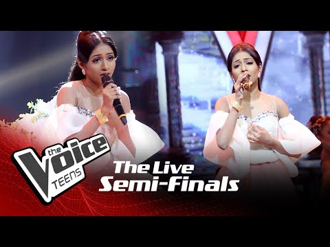 Shakya Nethmi   Dushmantha Aho   The Live Semi Finals   The Voice Teens Sri Lanka