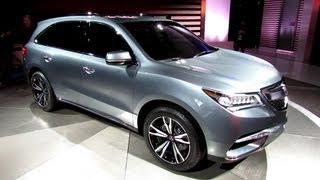2014 Acura MDX Prototype - Exterior Walkaround - 2013 Detroit Auto Show