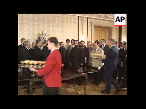 RUSSIA: MOSCOW: ASSASSINATION ATTEMPT MADE ON TAJIKISTAN'S PRESIDENT