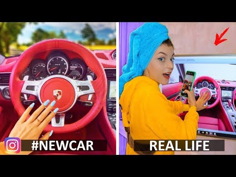 Funny photos - Instagram vs Real Life & Funny Facts! Phone Photo Hacks