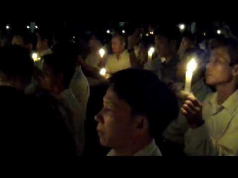 Giáo Xứ Nghi Lộc, GP Vinh Dâng Thánh Lễ Đặc Biệt Và Thắp Nến Cầu Nguyện Các Thanh Niên Yêu Nước Và Gia Đình LS Lê Quốc Quân Đang Bị Bách Hại