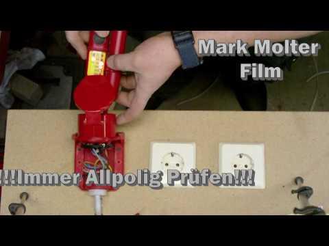 Elektroinstallation Teil 3 : Anschließen einer CEE 16 A 400V Steckdose von M1Molter